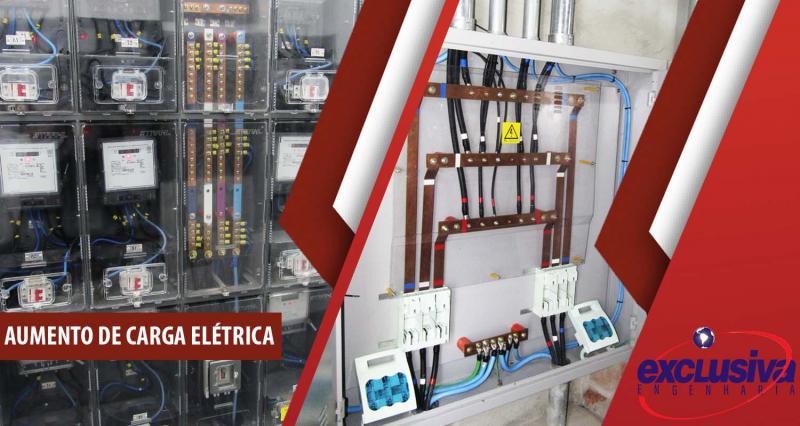 Aumento de carga elétrica