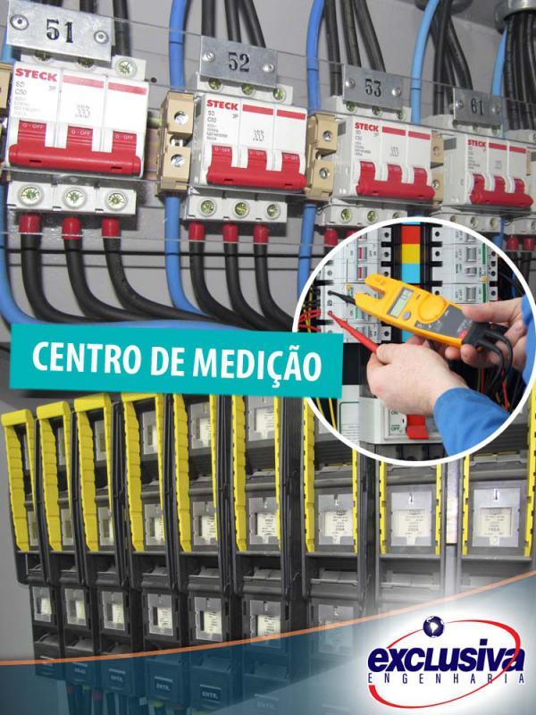 Centro de medição predial