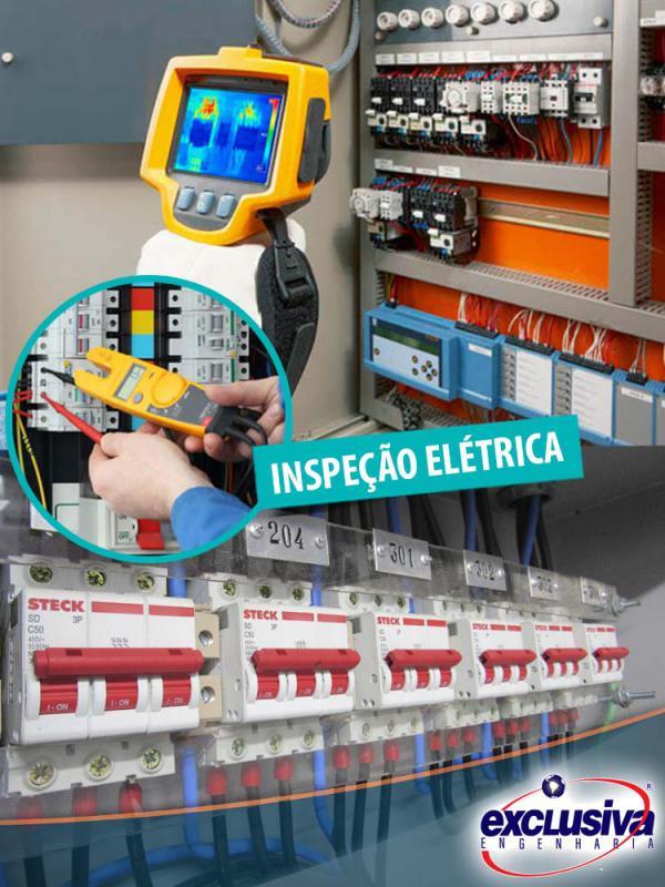 Inspeção instalações elétricas