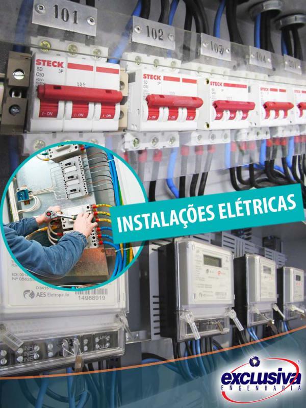 Instalações elétrica prediais sp