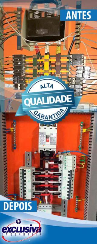 Retrofit elétrica e automação