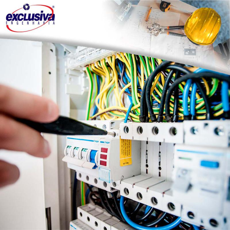 Serviço de instalação elétrica predial