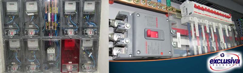 Serviço de instalação de painéis elétricos