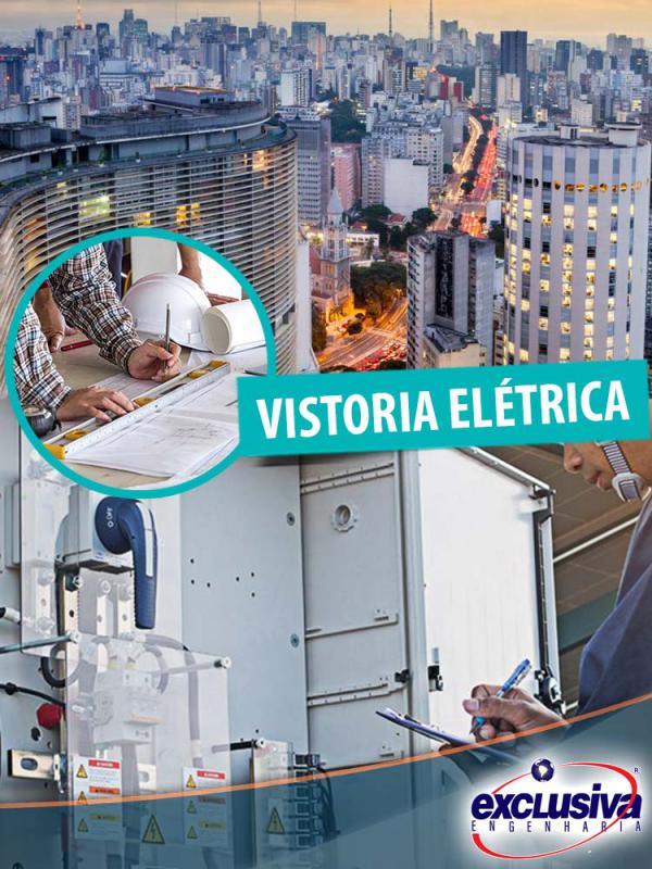 Vistoria rede elétrica